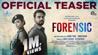 Forensic Malayalam Movie (2020) | Cast | Teaser