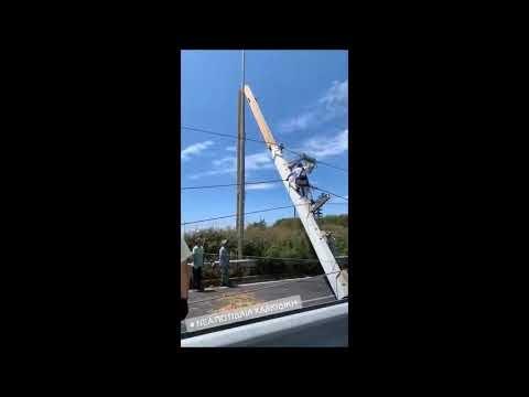 Συγκλονισμένη ακόμα η Χρηστίδου - Νέα βίντεο από την καταστροφή στην Χαλκιδική
