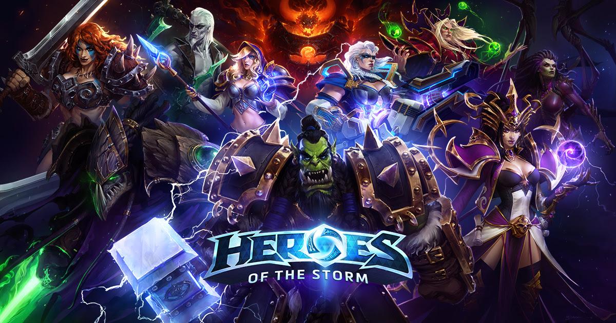 Resultado de imagem para heroes of the storm