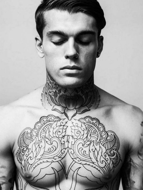 55 Creative Designs of Neck Tattoos