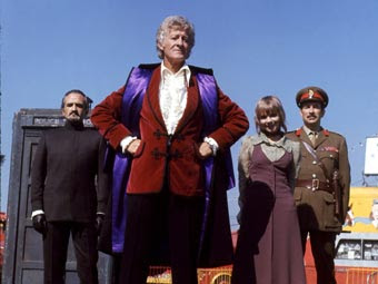 Delgado, Pertwee, Manning, Courtney - the 1971 Doctor Who dream team