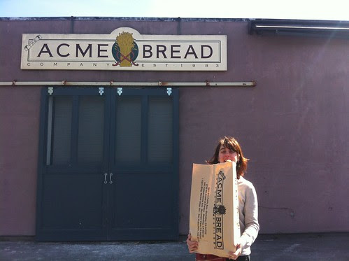 Shopping for breads at ACME Bakery