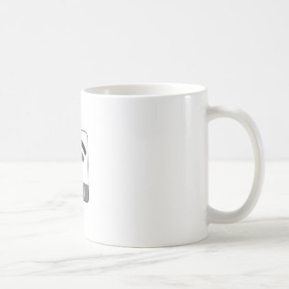 Knitted look wifi sign coffee mug