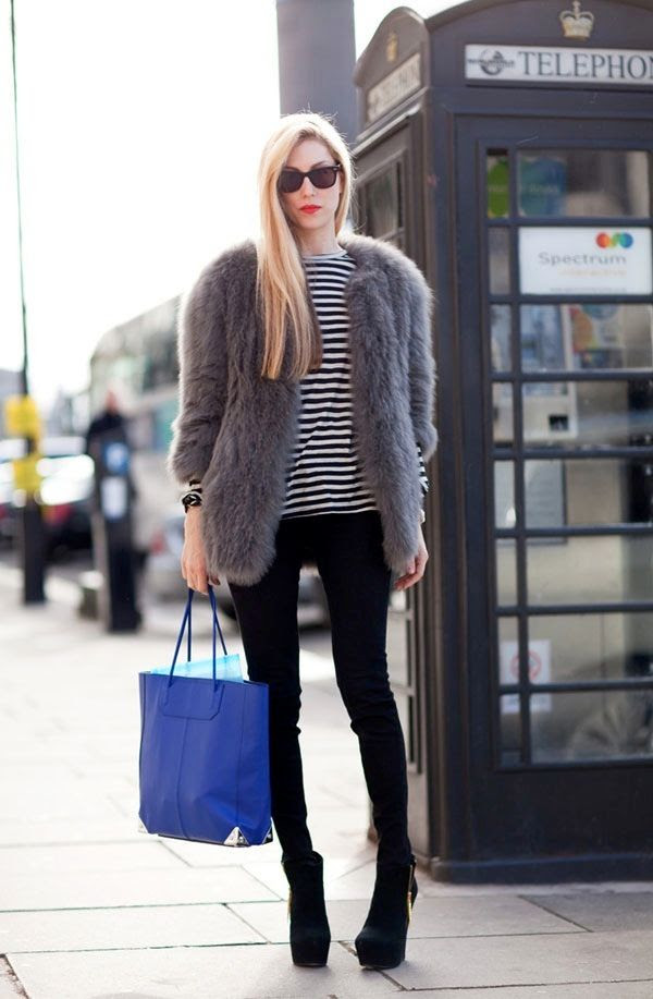 Le Fashion Blog 7 Ways To Wear Stripes In Winter Red Lipstick Fur Coat Striped Tee Skinny Black Pants Platform Boots Joanna Hillman photo Le-Fashion-Blog-7-Ways-To-Wear-Stripes-In-Winter-Red-Lipstick-Fur-Coat-Striped-Tee-Skinny-Black-Pants-Platform-Boots-Joanna-Hillman.jpg