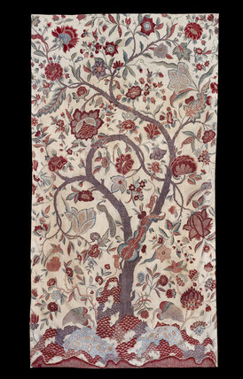 Chintz Wall Hanging With A Tree Of Life Design Memoryprintscom