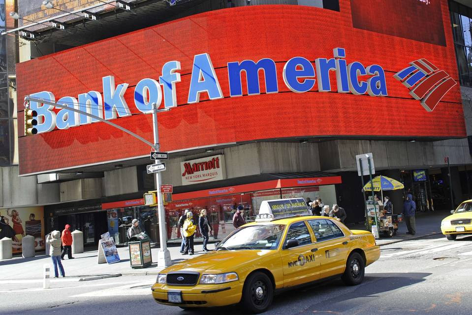 Bank of America says it may have to cut costs further if interest rates remain low.