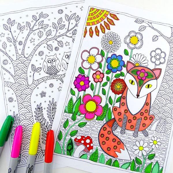 Libros De Colorear Para Adultos 5 Webs Para Imprimir Dibujos