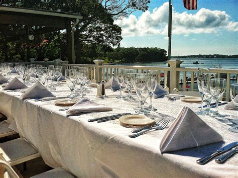 pridwin hotel perfect beach wedding table setting shelter