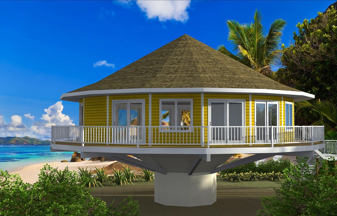 Pedestal Piling Homes Continental Kit Homes