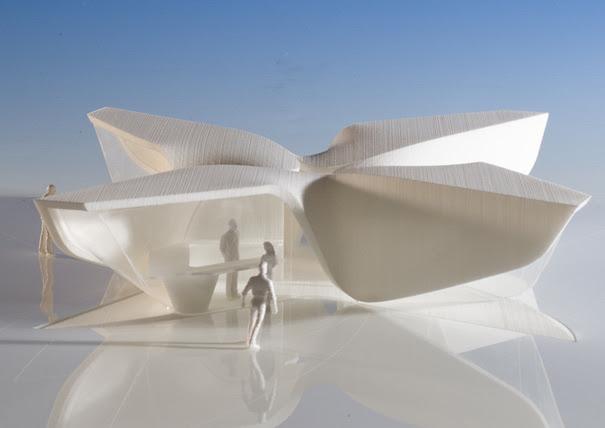 New Amsterdam Plein & Pavilion, Battery Park, New York, USA by Ben van Berkel / UNStudio