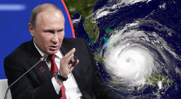president putin says the recent spate of hurricanes were engineered by the us government
