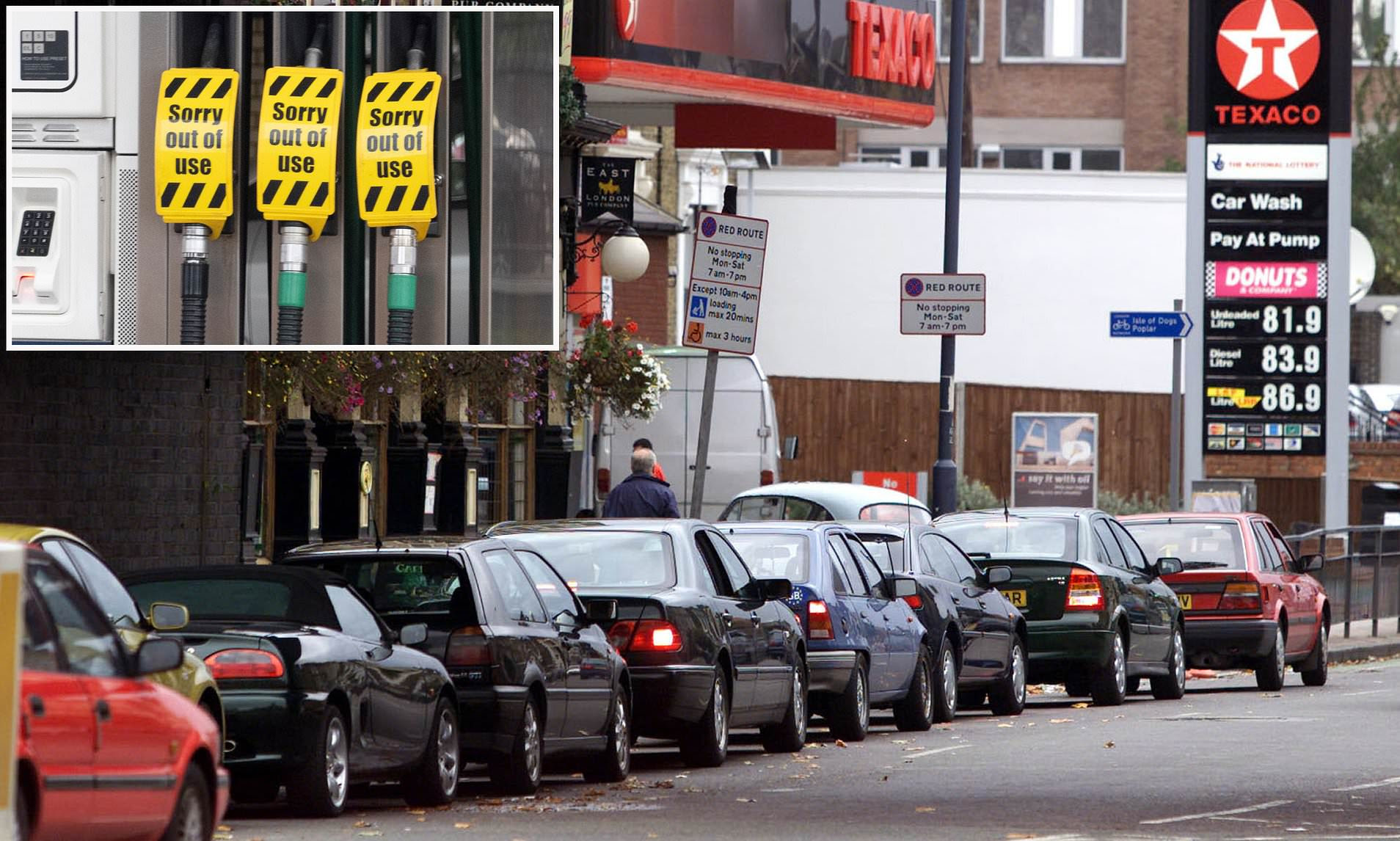 One in six in UK working from home because they cannot buy enough fuel for their daily commute