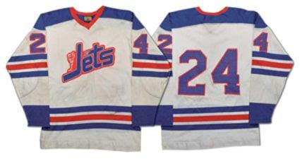 Winnpeg Jets 72-73 home jersey