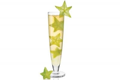 The Starlet- Champagne Tropical Drink Recipes