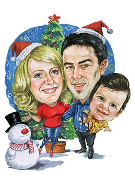 Christmas Caricatures   CartoonMe.co.za