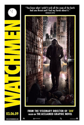 Watchmen Character Movie Posters - Jackie Earle Haley as Walter Kovacs / Rorschach