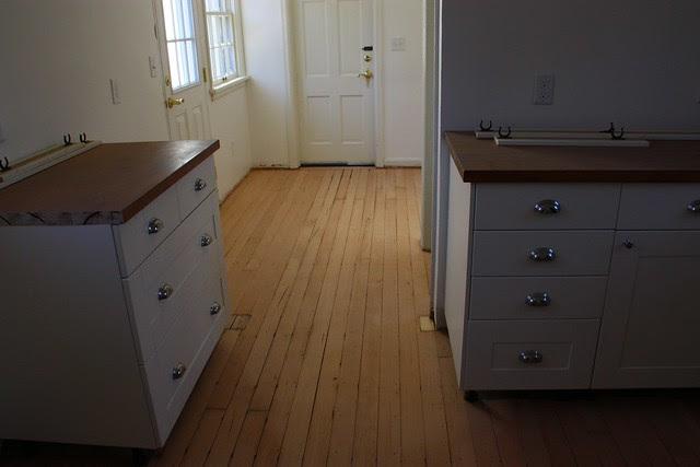 newly sanded floor