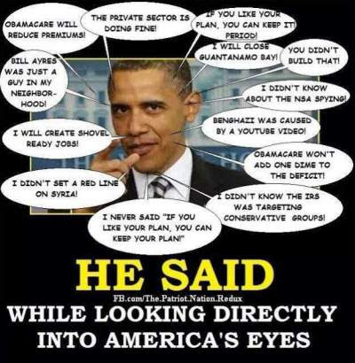 Image result for obama lies
