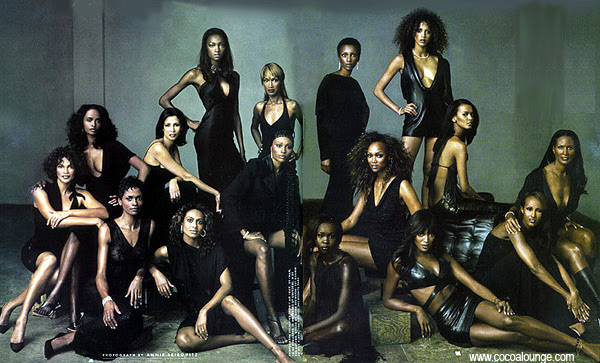 Generations of Beauty: Black Models