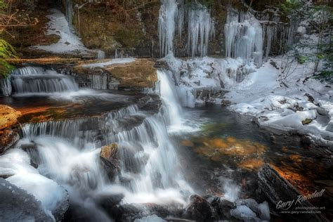 Ricketts Glen Pennsylvania Winter Waterfalls   Gary