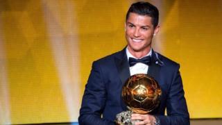 Cristiano Ronaldo Won Ballon d