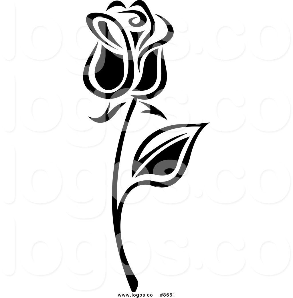 Long Stem Rose Tattoos Clipart Free Download Best Long Stem Rose