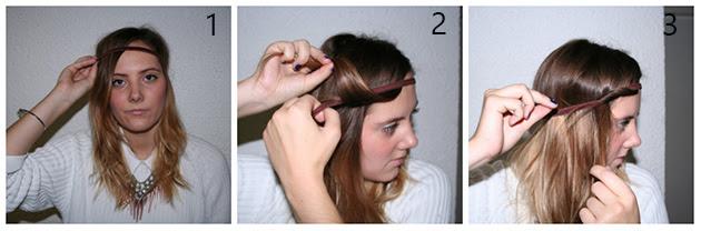 Kurze Haare Stylen Haarband Modische Haarschnitte Und Haarfärbungen
