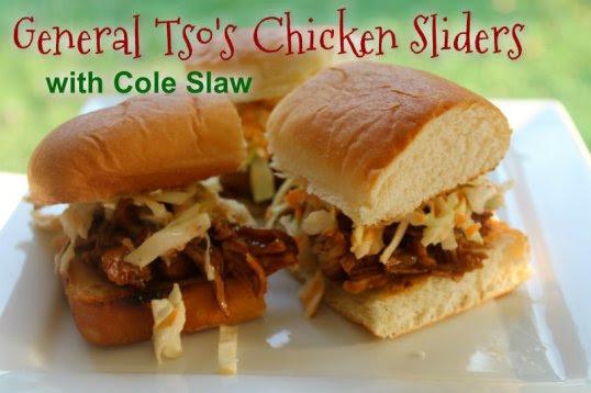 General Tso's Chicken Sliders