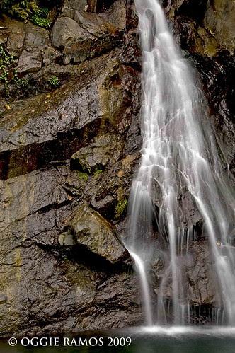 maribina dramatic rocks and cascade