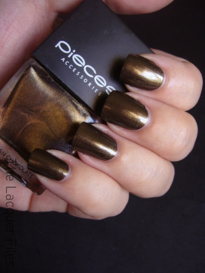 Pieces Nail Polish Nagellak Golden Chokolate