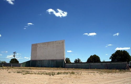 midway drive-in screen