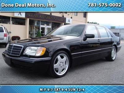 Find used 1999 Mercedes S500 with 75000 All original miles ...