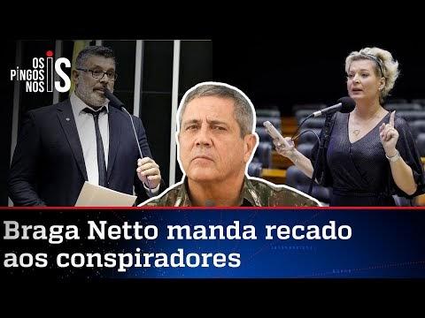 Joice e Frota se juntam a PT e PSOL pelo impeachment de Bolsonaro