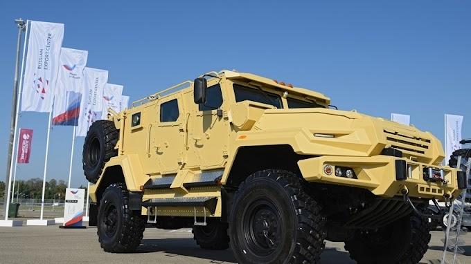 Forças Especiais Russas começam a testar novo veículo blindado