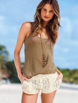 Victoria's Secret Crochet Shorts