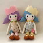 bambole di stoffa tutorial e cartamodello