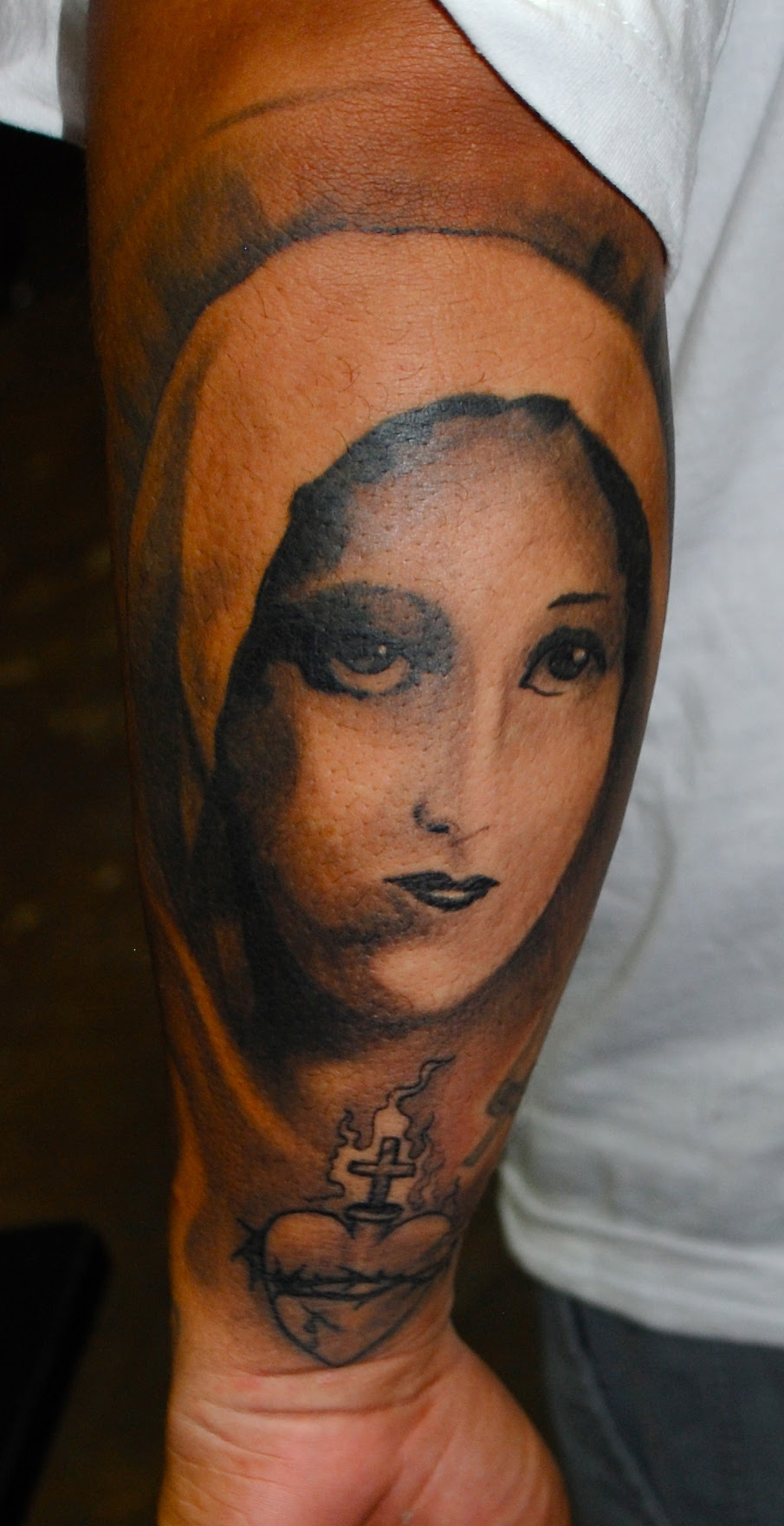 Virgin Mary Tattoos Designs, Ideas and Meaning | Tattoos