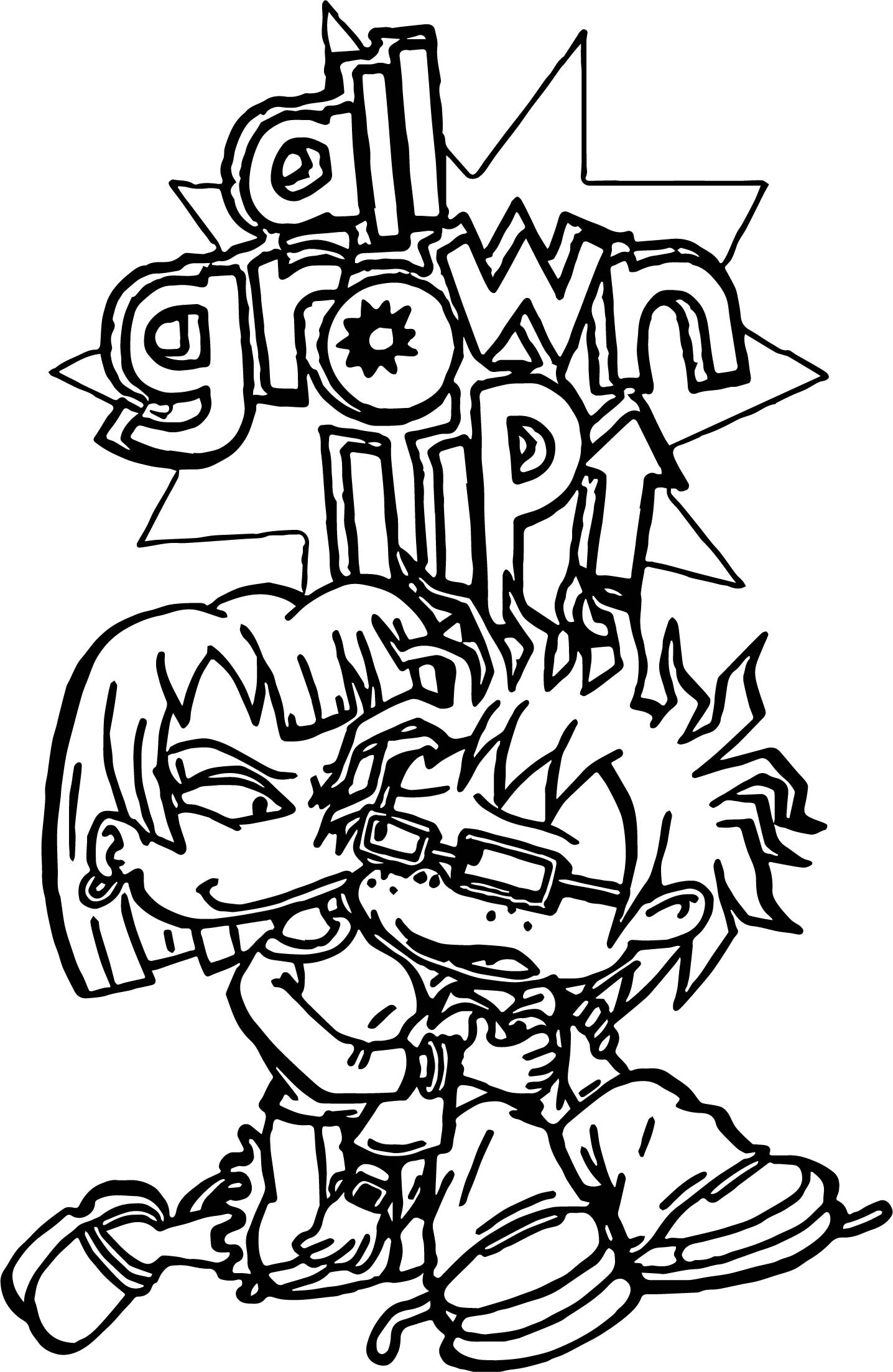🎨 Rugrats Coloring Pages - Kizi Coloring Pages | 2206x1436