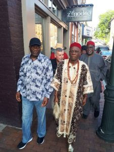 Eri King & Ohaneze Chief, Nnia Nwodo, Arrive USA For World Igbo Festival (Pics)