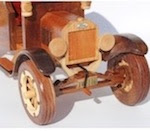 1925 Ford Model T Truck Woodworking Pattern - fee plans from WoodworkersWorkshop® Online Store - antique trucks,wooden models,scrollsawing patterns,drawings,workshop blueprints
