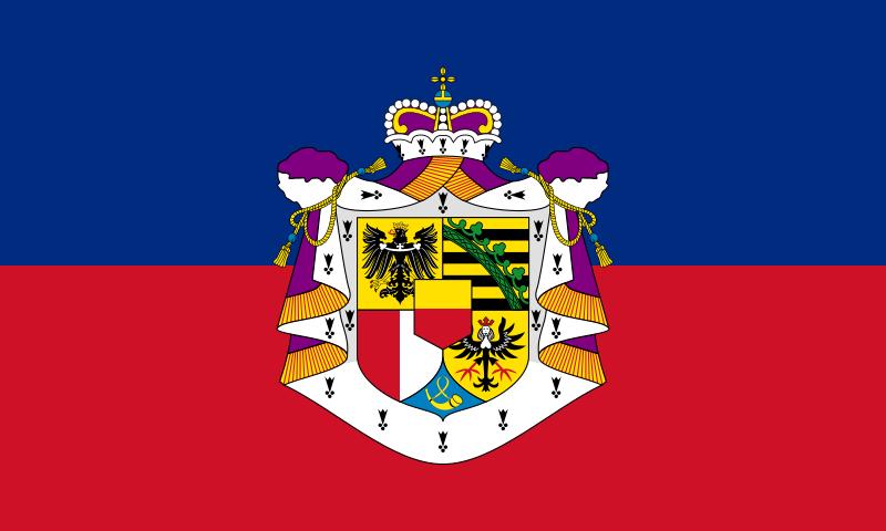 State Flag of Liechtenstein