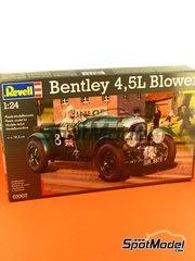 Maqueta de coche 1/24 Revell - Bentley 4.5L Blower  Nº 8 - 24 Horas de Le Mans 1930 image