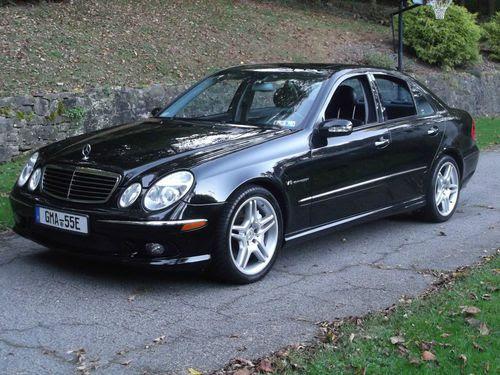 Sell used 2004 Mercedes-Benz E55 AMG Sedan 4-Door 5.5L 465 ...