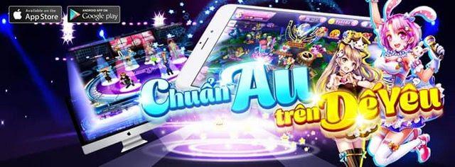 chơi game AU Stars của VTCGAME