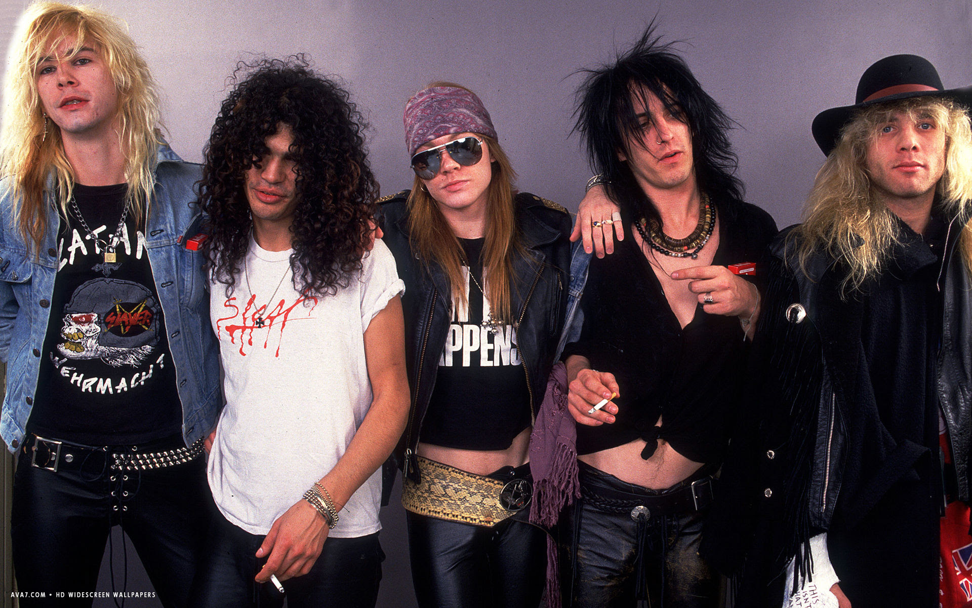 Guns N Roses Music Band Group Hd Widescreen Wallpaper Music
