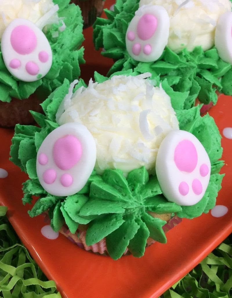 Bunny Butt Cupcakes by My Thoughts, Ideas, and Ramblings