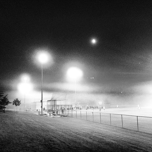 It was a dark and foggy night . The count was three and two.