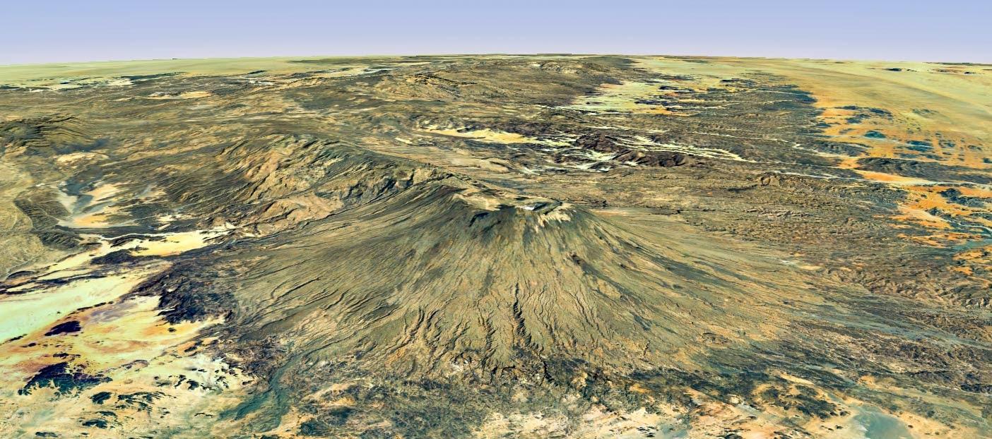 Emi Koussi Volcano