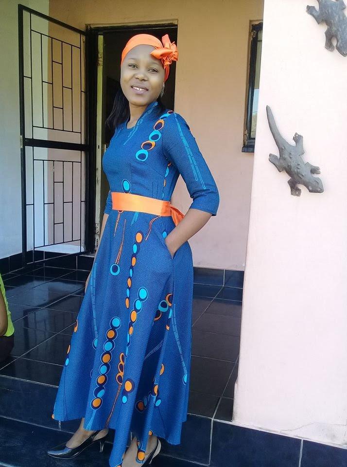 best new traditional shweshwe wedding dresses 2018  style2 t
