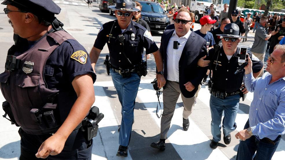 Alex Jones accused of destroying evidence in defamation case